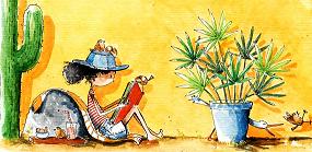 Nadia en het fantastische haar, leuk gesproken kinderboek