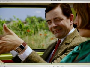 Mr Bean draagt mijn polshorloge